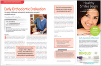 Early Orthodontic Evaluation article