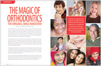 The Magic of Orthodontics article